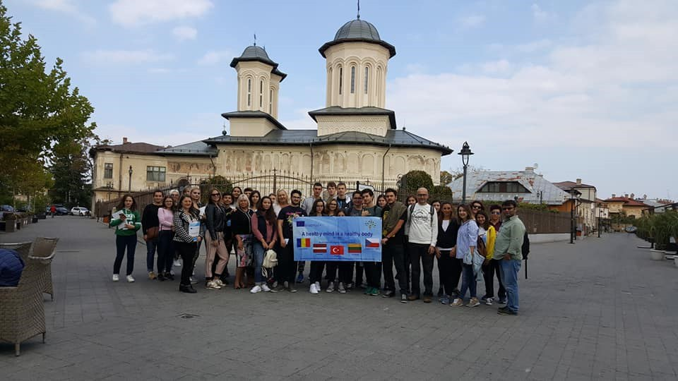"Erasmus+ projekts ""A healthy mind in a healthy body"" Rumānija, Targoviste 07.10 - 14.10.2018"